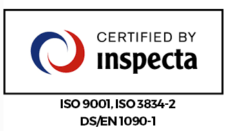 Certified by Inspecta
